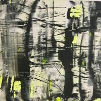 Yellow Light 100 x 100cm